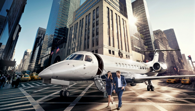 AirCM private jet for Royal Ascot, Art Basel Show or Le Mans 2019