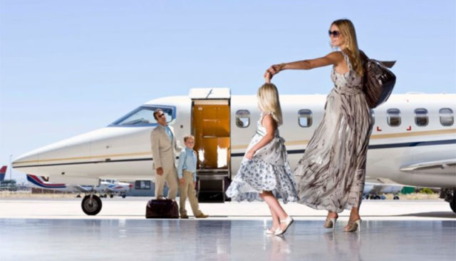 Personal Family Jet Charter